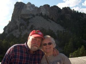 John and me at Mt. Rushmore